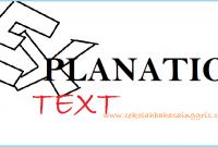 123 Explanation Text: Penjelasan Paling Lengkap & Contoh