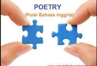1000 Contoh Kumpulan Puisi Dalam Bahasa Inggris Terbaru
