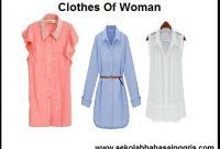 15 Vocabulary Corner: Clothes Of Woman (Pakaian Wanita)