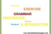 100 Materi Full Tentang Preposition Dan Interjection