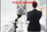 Learn Tips Public Speaking Class: Chapter 1