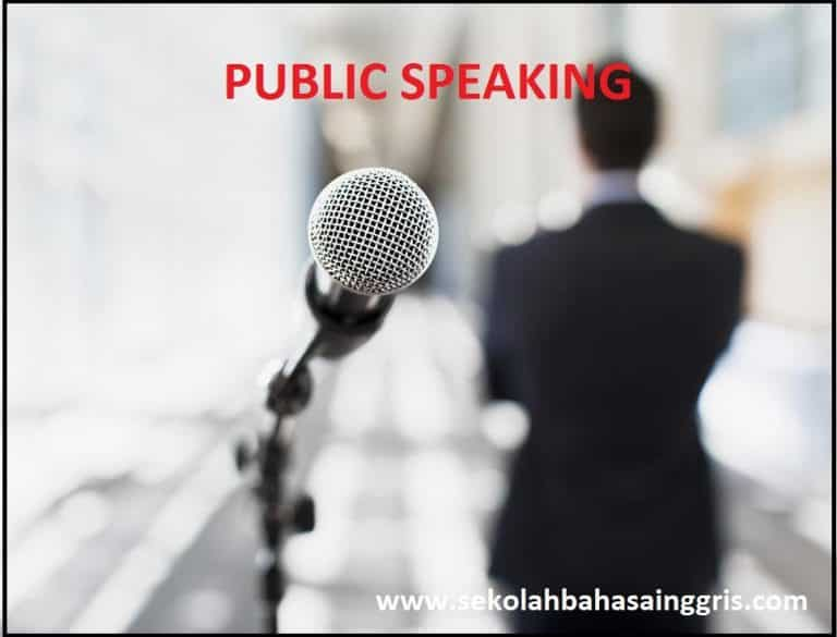 Learn Tips Public Speaking Class: Chapter 1