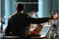 Apa itu Impromptu dalam Public Speaking?