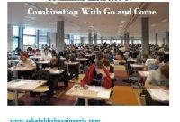 Grammar Exercise 3: Combination With Go and Come