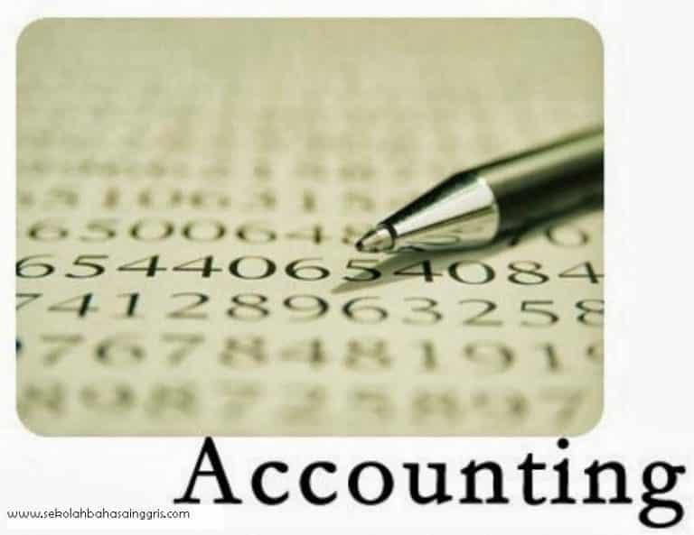 101 Istilah Akuntansi dalam Bahasa Inggris Beserta Artinya