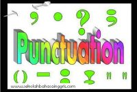 Learning And Practice English Punctuation Grammar Rules Part 1
