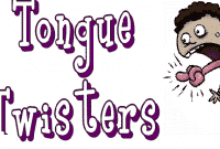 Speech Training:Practice Tongue Twister For Kids, Adults Part 1