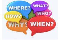 100 Contoh Kalimat Tanya dalam Bahasa Inggris (WH Questions)+ Artinya