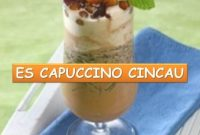 Contoh Procedure Text How To Make Cappucino Cincau Choco Latte yang Manis dan Segar