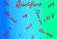 Pengertian QUANTIFIERS (bilangan) dan Contoh Kalimatnya Lengkap