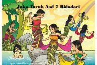 12 Cerita Rakyat Singkat: Jaka Tarub And 7 Bidadari Dalam Bahasa Inggris