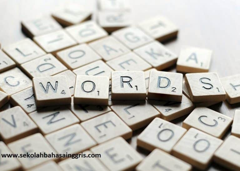 22 Vocabulary exercise: Latihan Soal Vocabulary Bahasa Inggris 1