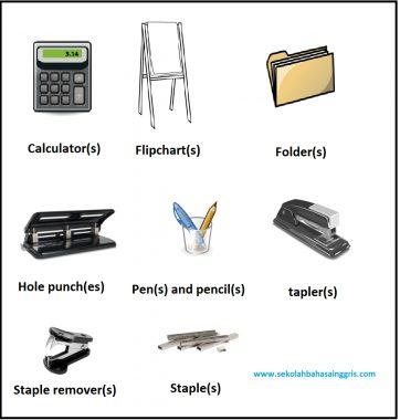 32 Kosa Kata Bahasa Inggris Di Sekitar Kantor