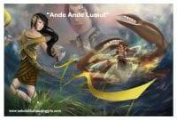 """Cerita Rakyat Nusantara: """"Ande Ande Lumut"""" Dalam Bahasa Inggris"""