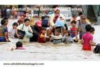 2015 Contoh Berita Bencana Alam Terkini Dalam Bahasa Inggris