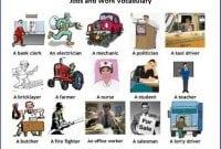 42 Kosa Kata Bahasa Inggris Tentang Bidang Pekerjaan