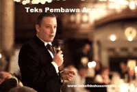 99 Contoh Teks Pembawa Acara Dalam Bahasa Inggris
