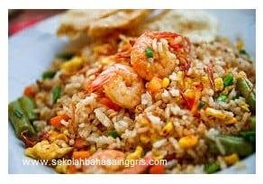 12 Langkah Mudah Cara Membuat Nasi Goreng Dalam Bahasa Inggris