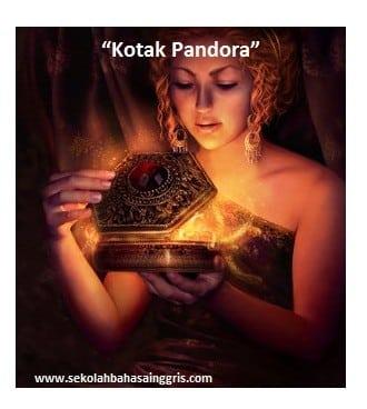 """Dongeng Singkat: """"Kotak Pandora"""" Dalam Bahasa Inggris"""