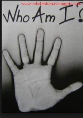 """Who Am I"" Games Bahasa Inggris Untuk Melatih Speaking Skill."