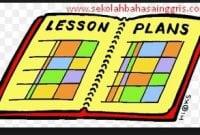 Contoh Lesson Plan Atau RPP Bahasa Inggris Kurikulum 2013