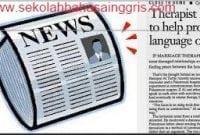 7 Contoh News Item Text Singkat Terbaru Beserta Artinya