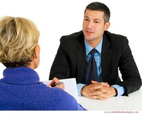 5 Contoh Percakapan Bahasa Inggris Singkat Dalam Interview Kerja