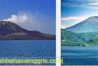 Contoh Explanation Text About Krakatau Volcano Beserta Artinya