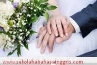 Perbedaan Arti Kata Marriage Dan Wedding Dalam Bahasa Inggris