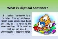 Elliptical Sentence:Pengertian, Rumus, Contoh Kalimat Dalam Bahasa Inggris