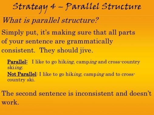 Pengertian, Ciri, Pola, Struktur Dan Contoh Kalimat PARALLEL SENTENCE Dalam Bahasa Inggris