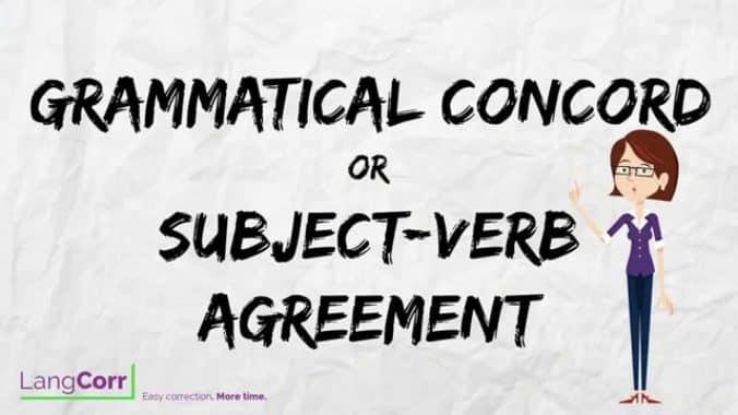 """Pengertian, Penggunaan CONCORD/AGREEMENT Dan Contoh Kalimatnya """" KOMPLIT """""""