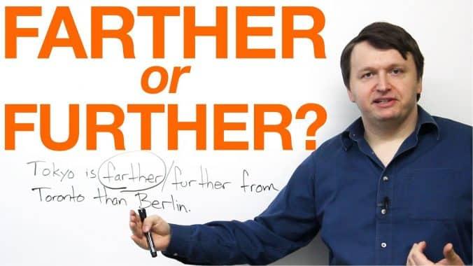 Perbedaan,Penggunaan Further VS Farther Dan Contoh Kalimat Dalam Bahasa Inggris