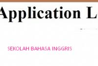 2 Contoh Surat Lamaran Kerja Bahasa Inggris For Fresh Graduate
