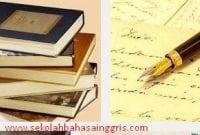 Aturan Penulisan Ilmiah Dalam Bahasa Inggris