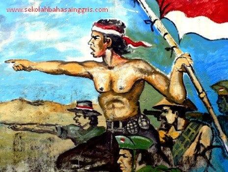 2 Contoh Pidato Bahasa Inggris : Hari Pahlawan 10 November + Artinya