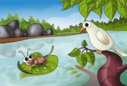 Contoh-Story-Telling-The-Ant-and-the-Dove