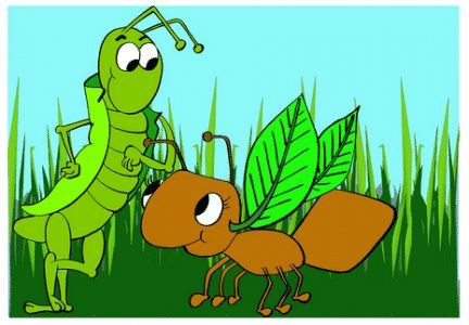 Contoh-Story-Telling-The-Ant-and-the-Grasshopper
