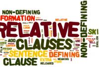 Pengertian, Jenis, Contoh Dan Penjelasan 'Defining Clause' Dalam Kalimat Bahasa Inggris