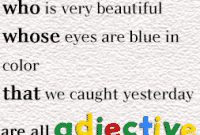 "Pengertian, Fungsi, Rumus Dan Soal ""Adjective Clause"" Dalam Kalimat Bahasa Inggris Beserta Contohnya"