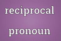 "Pengertian, Penggunaan Dan Macam ""Reciprocal Pronouns"" Beserta Contoh Dalam Kalimat Bahasa Inggris"