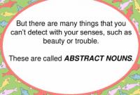 "Pengertian Dan Bentuk ""Abstract Noun"" Dalam Bahasa Inggris Beserta Contoh"