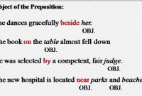 "Pengertian, Macam Dan Bentuk ""Object Of Preposition"" Dalam Bahasa Inggris"