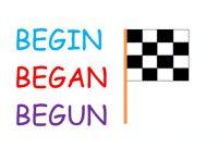 """Penggunaan Dan Contoh """"Begin, Began, Begun"""" Dalam Bahasa Inggris"""