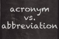 """Perbedaan Dan Contoh Kalimat """"Abbreviation vs Acronym"""" Dalam Bahasa Inggris"""