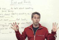 """Perbedaan Dan Contoh Kalimat """"Finish vs End"""" Dalam Bahasa Inggris"""