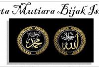 300an Kata Kata Mutiara Bijak Islami Bahasa Inggris Dan Artinya