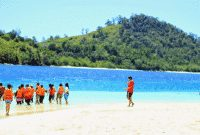 Descriptive Text : 'Pulau Pahawang' Dalam Bahasa Inggris Beserta Artinya