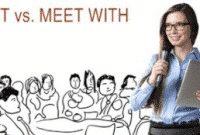 """""""Meet vs Meet With"""" : Penjelasan dan Contoh Kalimat Dalam Bahasa Inggris"""