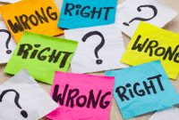 55 Right-Wrong Sentence (Kalimat Benar Dan Salah) Dalam Bahasa Inggris